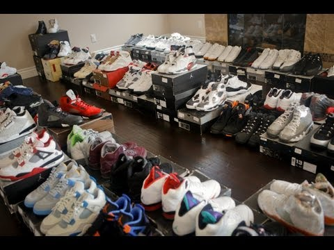 "A ""Sneak Peek"" Inside DeMar DeRozan's Shoe Room"
