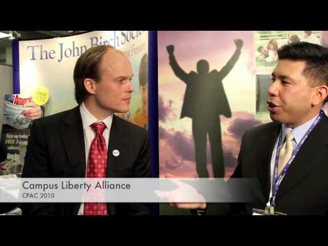 Campus Liberty Alliance interviews Erik Johnson of YAF (CPAC 2010)