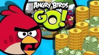 Angry Birds GO! SPEND MONEY Part 2
