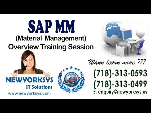 SAP MM(Material Management) - Training Session-1