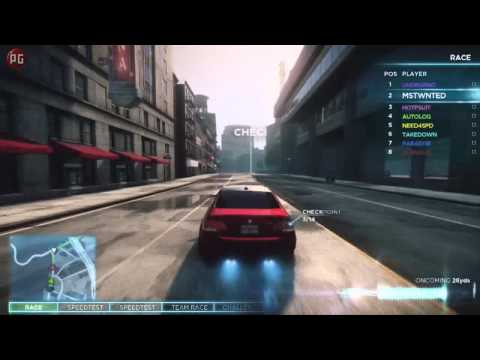 Need for Speed: Most Wanted (Геймплейное интервью)