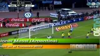 Argentina Vs Ecuador (4-0) Goles Del Partido