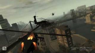 Insane Helicopter Fight In GTA IV