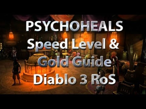 Diablo 3 Level 1-70 and 20M Gold in 60 mins - Part 3 Sicht des Gezogenen