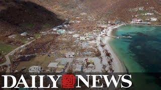 100 prisoners on the British Virgin Islands were freed during Hurricane Irma
