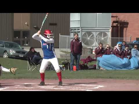 NCCS - AuSable Valley Softball 5-13-13