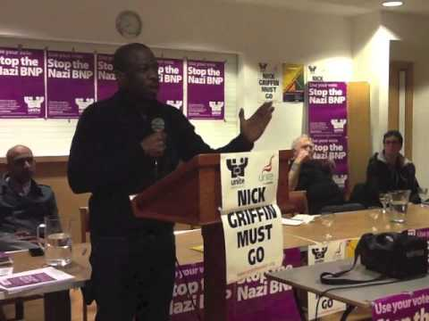 Weyman Bennet UAF Nick Griffin Must Go!