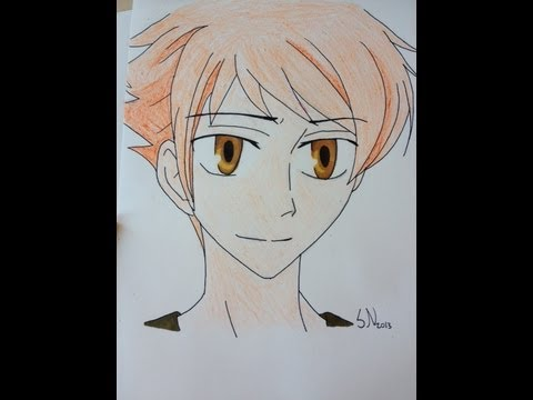 Drawing Hikaru from Ouran highschool host club, Yea, HIKARU IS THE BEST! sorry, i'm just a fanigirl