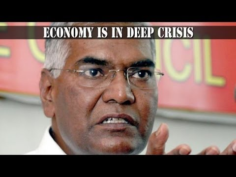 D. Raja, CPI : UPA patronises corporate houses spelling death of economy