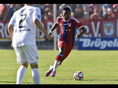 David Alaba bringt Bayern-Sieg - Holger Badstuber zurück   Red Baroons - FC Bayern München 0:3