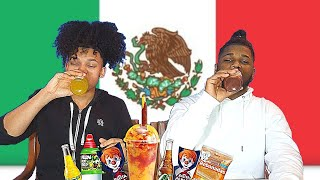 DOMINICANS TRY MEXICAN SNACKS !!