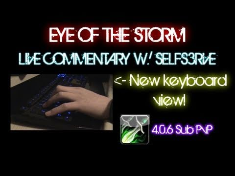 WoW Cataclysm: Eye of the Storm live commentary [4.0.6 Rogue PvP]