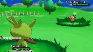 Pokemon X And Y New Screen Shots, Move Names And Kalos