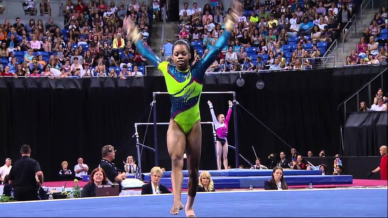 Gabby Douglas Floor 2012 Visa Championships Sr