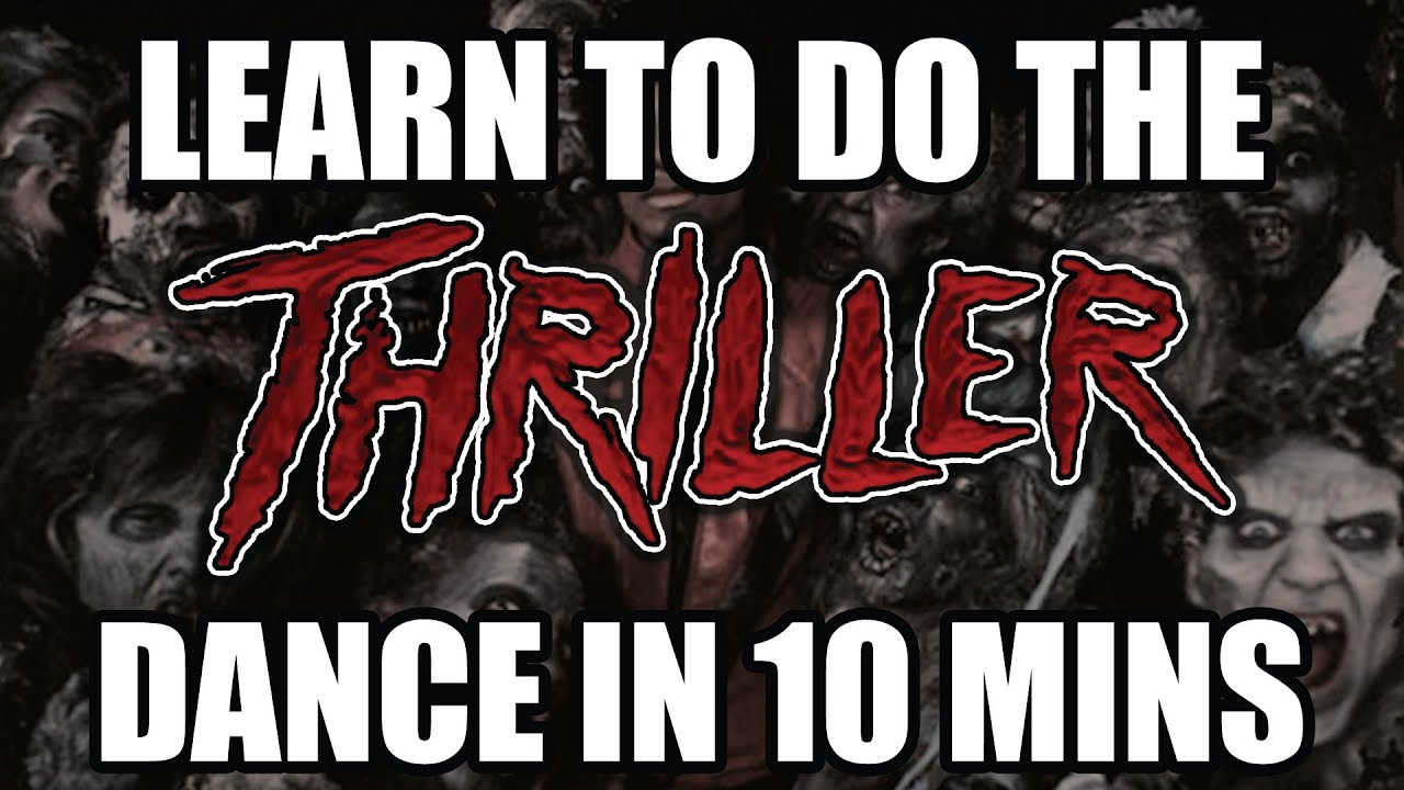 How to dance Thriller step by step instruction - Thriller ...