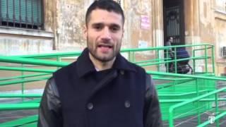 #LazioXMas, Candreva incontra i bambini del Policlinico Umberto I