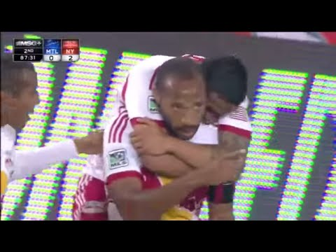 GOAL: Thierry Henry AMAZING Bicycle Kick | New York Red Bulls vs Montreal Impact