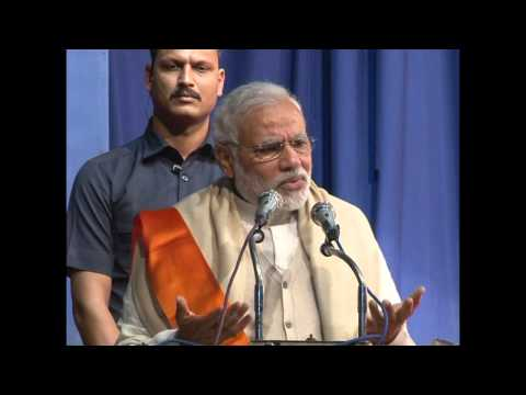 Shri Narendra Modi addressing state executive meet of Gujarat BJP SC Morcha