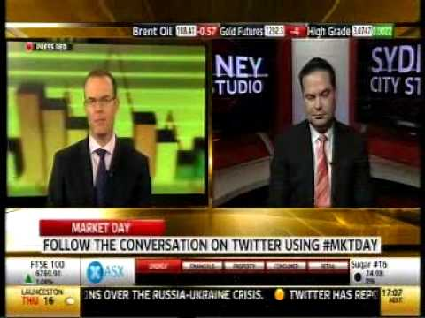 Ryan Felsman - Sky News Business Market Day 30 April 2014
