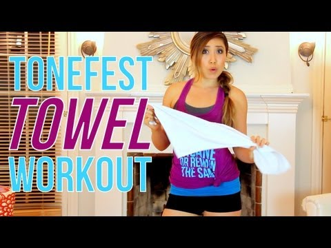Tonefest Towel Workout