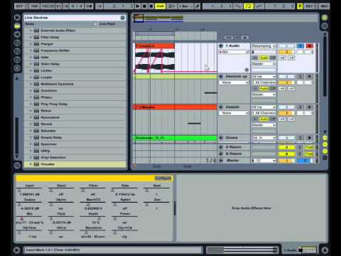 How to resample, split frequencies and other tricks in Ableton Live.