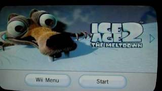 Ice Age 2 The Meltdown Wii Part 1