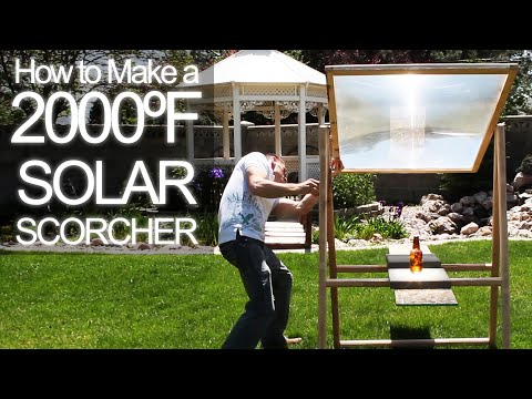 How to get 2000ºF Solar Power