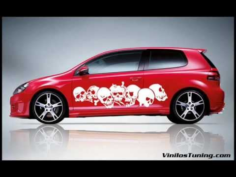 Carros con calcomanias tuning - Imagui