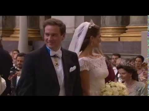 Swedish Princess Madeleine marries Christopher O'Neill