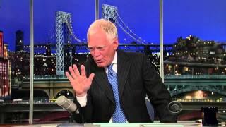 David Letterman: Fracking