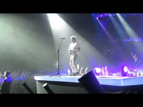 17/04/14 - McBusted - Glasgow SSE Hydro - I Want You Back (Jackson 5 Cover)