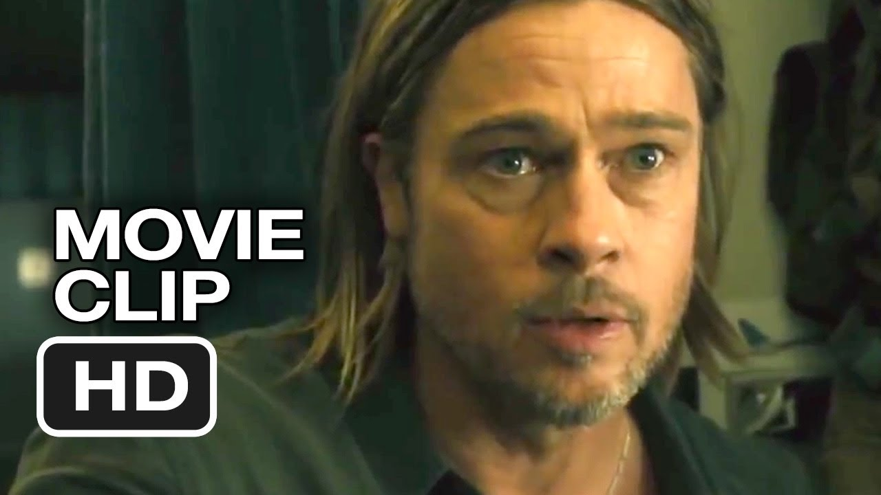 World War Z Movie CLIP...