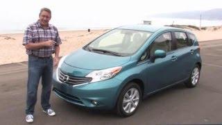 2014 Nissan Versa Note Test Drive & Compact Car Video