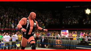 Stone Cold Steve Austin WWE 2K14 Entrance And Finisher