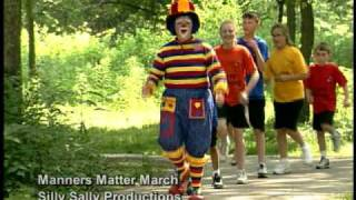 Silly Sally The Clown-Manners Matters March-Kids Song