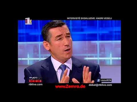 Debat LIVE - Kadri Veseli - 2 Nentor 2012