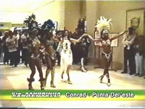 SARGENTELLI e mulatas no Conrad  Punta Del Este - UY - show itinerante