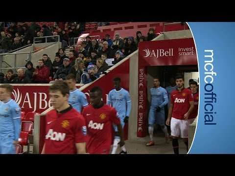 HIGHLIGHTS Manchester United 1-2 City EDS Under 21 Premier League