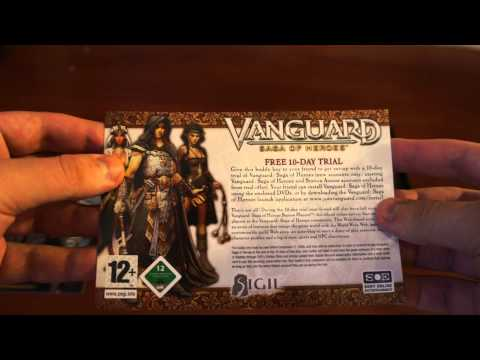 Vanguard: Saga of Heroes (UK DVD-box) unboxing