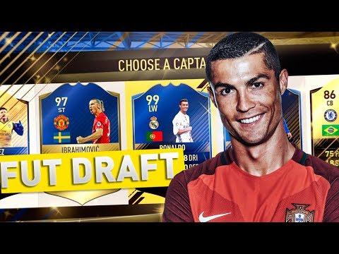 FIFA 17 FUT DRAFT - Bestia Ronaldo rupe tot :D