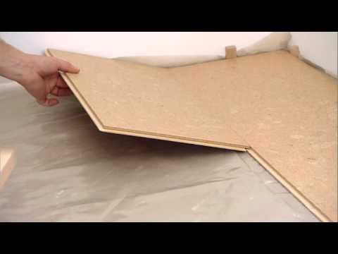 tilo verlegung kork youtube. Black Bedroom Furniture Sets. Home Design Ideas