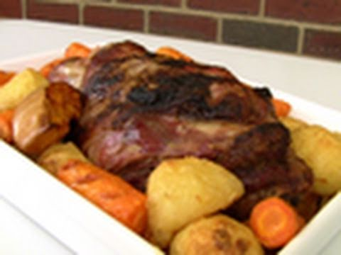 Roast Leg Of Lamb Video Recipe
