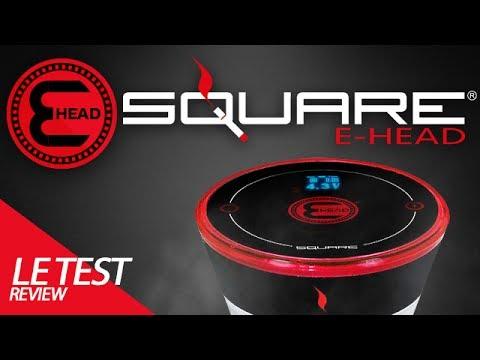 E-Head : Test de la chicha électronique Square (Fabricant E-hose Starbuzz)