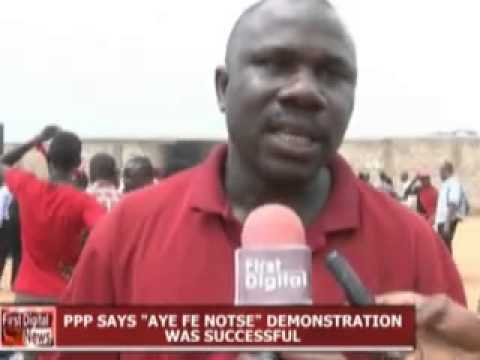 PPP DEMONSTRATION IN ACCRA