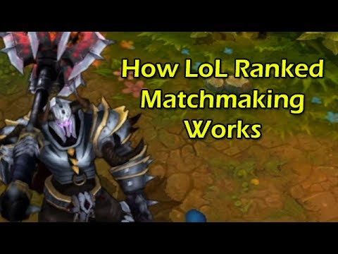 league of legends matchmaking ratio