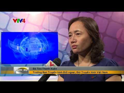 Đài truyền hình quốc gia Lào phát sóng bản tin tiếng Việt đầu tiên