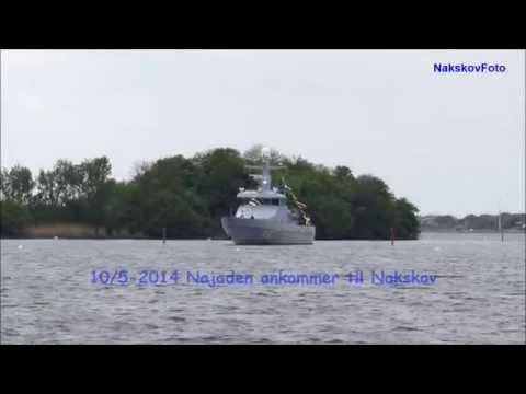 P523 Najaden ankommer til Nakskov