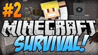 "Minecraft: Survival Lets Play! EP.2 ""MORE DIAMONDS"