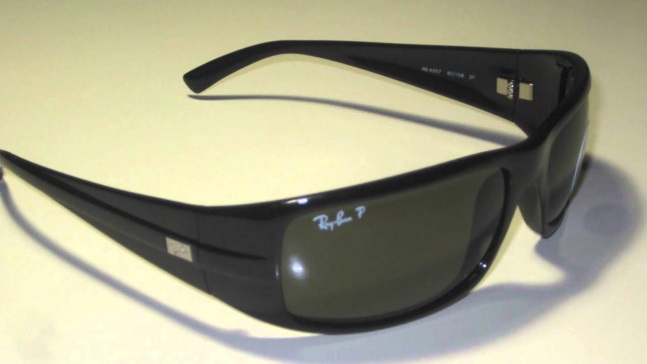 frau mit ray ban sonnenbrille bei youtube