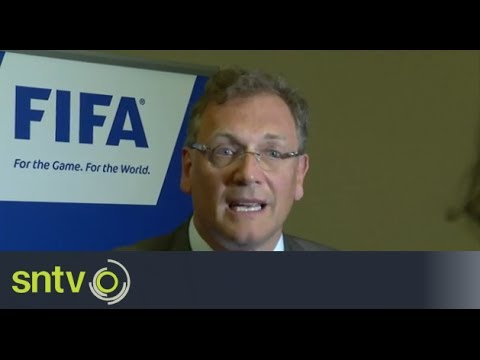 Brazil 'not ready' to host World Cup - Valcke [AMBIENT]